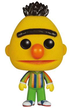 Sesame Street POP! TV Vinyl Figure Bert (Flocked) 9 cm