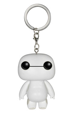 Big Hero 6 Pocket POP! Vinyl Keychain Nursebot Baymax 4 cm