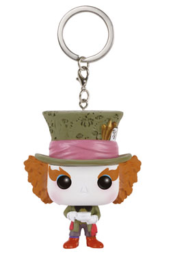 Alice in Wonderland POP! Vinyl Keychain Mad Hatter 4 cm