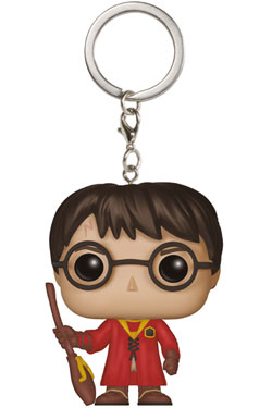 Harry Potter Pocket POP! Vinyl Keychain Harry Potter Quidditch 4 cm