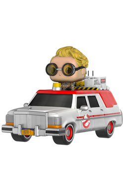 Ghostbusters 2016 POP! Rides Vinyl Vehicle with Figure ECTO-1 & Jullian Holtzmann 18 cm