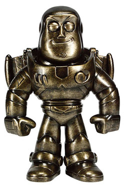 Toy Story Sofubi Vinyl Action Figure Buzz Lightyear (Pewter) 19 cm
