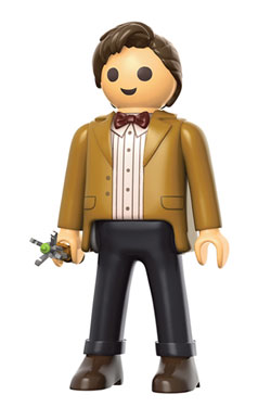 Doctor Who Funko x Playmobil Vinyl Figure 11th Doctor 15 cm
