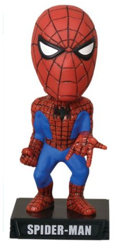 Marvel Comics Wacky Wobbler Bobble-Head Spider-Man 18 cm