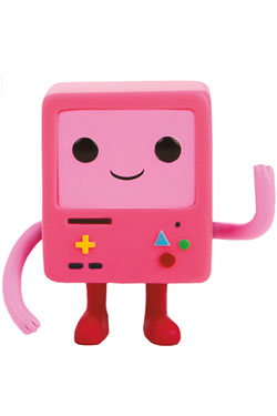 Adventure Time POP! Television Vinyl Figure BMO Pink 9 cm