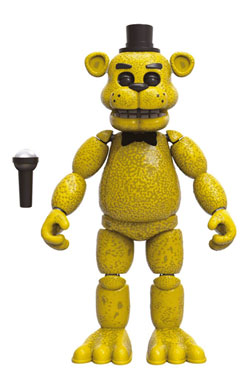 Five Nights at Freddy's Action Figure Golden Freddy 13 cm