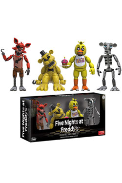 Five Nights at Freddy's Action Figures 4-Pack Set 1 5 cm