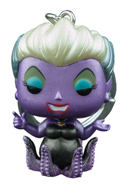 The Little Mermaid Pocket POP! Vinyl Keychain Metallic Ursula 4 cm