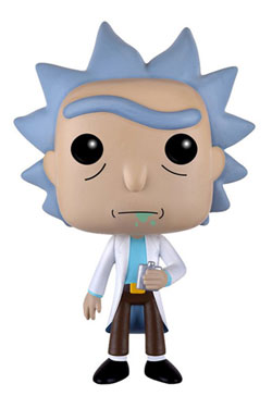 Rick and Morty POP! Animation Vinyl Figure Rick 9 cm