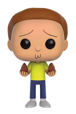 Rick and Morty POP! Animation Vinyl Figure Morty 9 cm