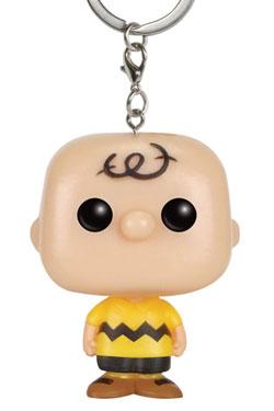 Peanuts Pocket POP! Vinyl Keychain Charlie Brown 4 cm