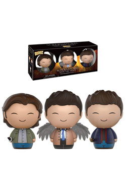 Supernatural Dorbz Vinyl Figures 3-Pack Sam, Dean & Castiel 8 cm