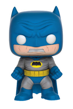 Batman The Dark Knight Returns POP! Heroes Figure Batman (Blue Costume) 9 cm