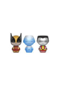 X-Men Dorbz Vinyl Figures 3-Pack Wolverine, Ice-Man & Colossus SDCC 2016 Exclusive 8 cm