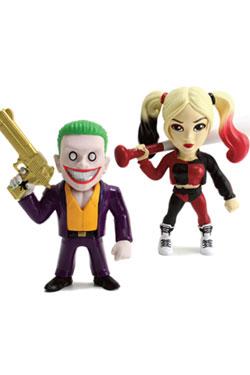 Suicide Squad Metals Diecast Mini Figures 2-Pack Joker & Harley Quinn 10 cm