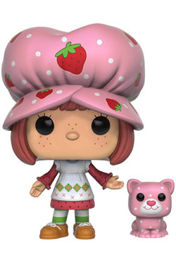 Strawberry Shortcake POP! Animation Vinyl Figure Strawberry Shortcake & Custard 9 cm