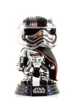 Star Wars Episode VII POP! Vinyl Bobble-Head Figure Captain Phasma (Chrome) 9 cm