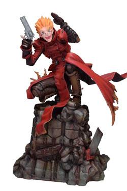 Trigun Badlands Rumble Statue 1/6 Vash The Stampede Holdup Ver. 23 cm