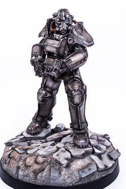 Fallout 4 Statue 1/4 T-45 Power Armor 56 cm