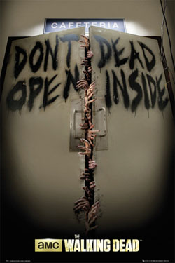 Walking Dead Poster Set Keep Out 61 x 91 cm (5)