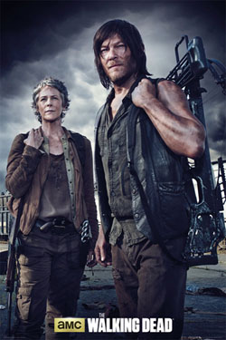 Walking Dead Poster Carol and Daryl 61 x 91 cm
