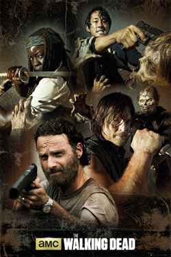 Walking Dead Poster  Collage 61 x 91 cm