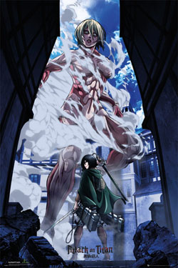 Attack on Titan Poster Pack Art 61 x 91 cm (5)