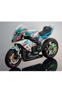 Racing Miku 2013 Vehicle ex:ride Spride.06 - TT-Zero 13 Kai 19 cm