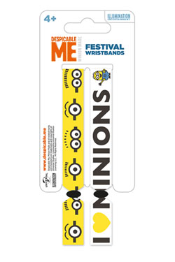 Despicable Me Festival Wristband 2-Pack Minions