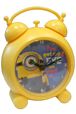 Despicable Me Alarm Clock with Sound Minions