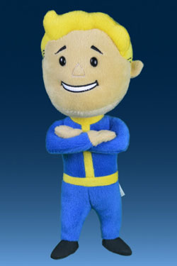 Fallout 4 Plush Figure Vault Boy 111 Arms Crossed 30 cm