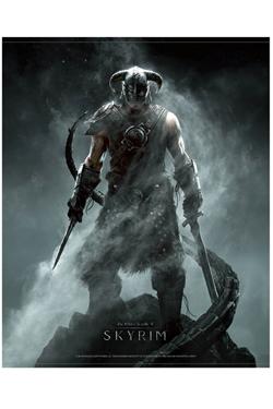 The Elder Scrolls V Skyrim Wallscroll Dragonborn 100 x 77 cm