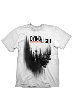 Dying Light T-Shirt Cover Zombie  Size S