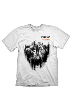 Dying Light T-Shirt The Following  Size XL