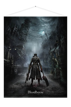 Bloodborne Wallscroll Night Street 100 x 77 cm