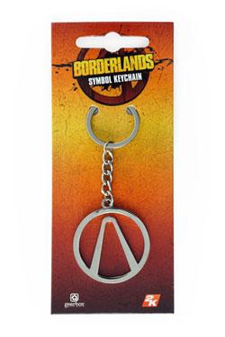 Borderlands Metal Keychain Symbol