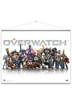 Overwatch Wallscroll Heroes 100 x 77 cm