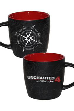 Uncharted 4 Mug Compass Map
