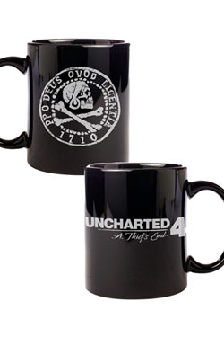 Uncharted 4 Mug Pirate Coin