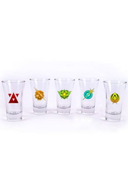 Battleborn Shotglass 5-Pack