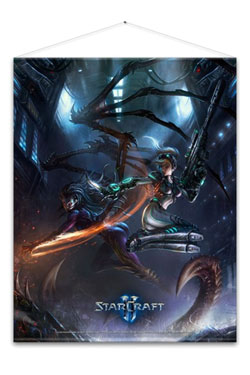 Starcraft Wallscroll Kerrigan and Nova 100 x 77 cm