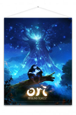 Ori and the Blind Forest Wallscroll Key Art 100 x 77 cm
