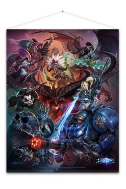Heroes of the Storm Wallscroll Heroes 100 x 77 cm