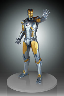 Marvel Statue 1/4 Iron Man Hajime Sorayama Ver. 49 cm