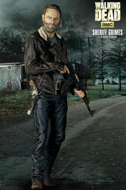 The Walking Dead Statue 1/4 Rick Grimes 46 cm