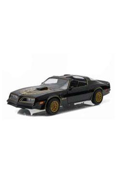 Smokey and the Bandit Diecast Model 1/24 1977 Pontiac Trans Am black/gold