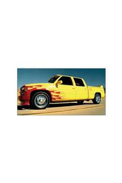 Kill Bill Diecast Modell 1/43 1997 Chevrolet C-2500 Pussy Wagon