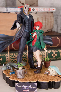 The Ancient Magus Bride PVC Statue Elias Ainsworth & Hatori Chise Set Special Edition 20 cm
