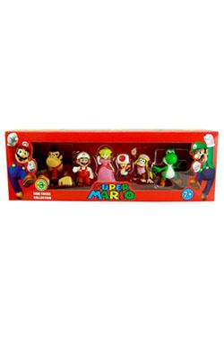 Super Mario Bros. Gift Box with 6 Figures 6 cm Wave 3