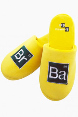 Breaking Bad Slippers Elements  Size L